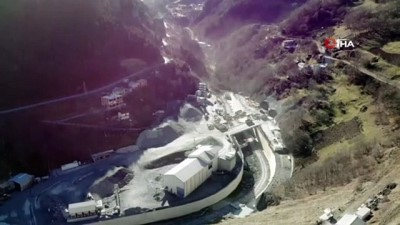 karayolu tuneli -  Yeni Zigana Tüneli inşaatında yüzde 78 seviyesine ulaşıldı