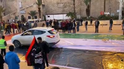 - Libya'da BAE karşıtı protesto