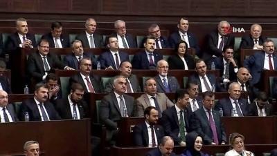 Cumhurbaşkanı Erdoğan: 'Bu zat, 34 şehit verdiğimiz gecede 'Esed'in askerleri bizim askerleri koruyor' diyebilecek kadar zıvanadan çıkmıştır'