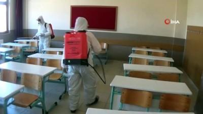 hukumet konagi -  İnegöl'de korona virüsü tedbirleri devam ediyor