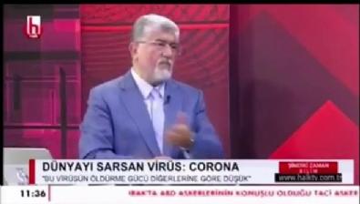Canlı yayında olay sözler: Kızım koronavirüse yakalandı