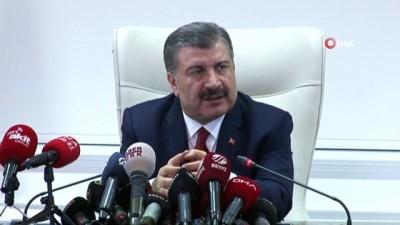 Sağlık Bakanı Fahrettin Koca'dan, Bilim Kurulu Toplantısı sonrasında açıklama