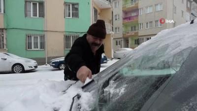 kar kureme araci -  Sivas'ta Mart karı 124 köy yolunu araç ulaşımına kapattı
