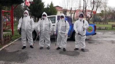 Aksaray Belediyesi korona virüsüne karşı çalışmalarını sürdürüyor