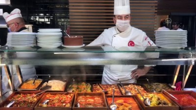 Lokantalarda 'koronavirüs' tedbirleri artırıldı - İSTANBUL
