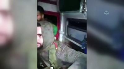 ozel kuvvet - Esed rejimi askerleri, ambulansları kalkan yaptı
