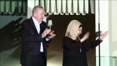 Cumhurbaşkanı Erdoğan da sağlık çalışanlarına destek verdi