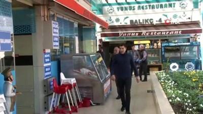 Florya balık çarşısı restoranları paket servisi dönemine geçti
