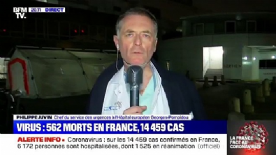 Fransız doktor koronavirüs dehşetini anlattı