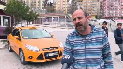 arac plakasi - Başkentte iki taksi durağının plaka kısıtlamasında 'tek-çift' şanssızlığı - ANKARA