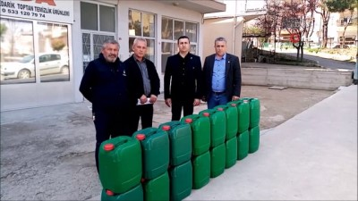 muhtarliklar -  Tekirdağ'da 77 mahalleye dezenfektan dağıtıldı