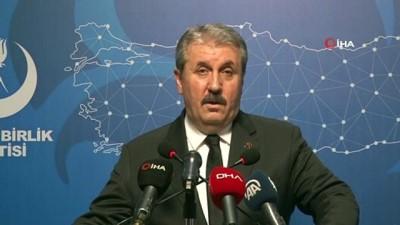 """BBP Genel Başkanı Destici: """"Hatay'ın güvenliğinin İdlib'ten başladığını asla unutmamalıyız"""""""