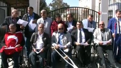 Şanlıurfa'daki engelli derneklerinden 'Bahar Kalkanı Harekatına' destek