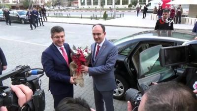 hakkaniyet -  Bilecik Şeyh Edebali Üniversitesinin yeni rektörü göreve başladı