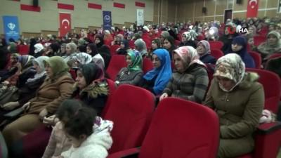 Ağrı'da 'Hakları ve Saygınlığı ile İslam'da Kadın Konferansı' düzenlendi