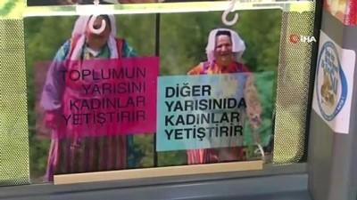 İstanbul'da bugün bu minibüste kadınlara ulaşım ücretsiz