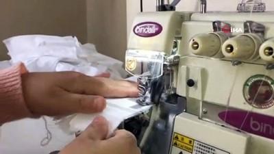 halk egitim -  Tekkeköy Belediyesi koruyucu maske üretiyor