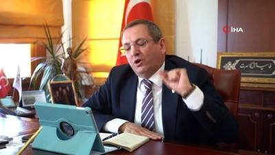 """inisiyatif -  """"Yazlıkçılar Ayvalık'a gelmesin"""" çağrısında bulunan Başkan Ergin'e Bakan Kurum'dan tam destek"""