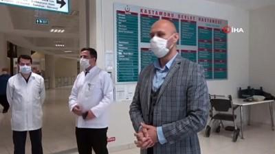 gribal enfeksiyon -  Korona virüsü yenen 3 kişi daha alkışlarla taburcu edildi