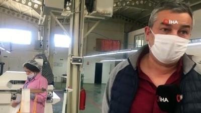 Tekstil firmaları maske üretimine başladı