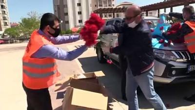 anne adaylari -  Atakum Belediyesi Anneler Günü'nü unutmadı