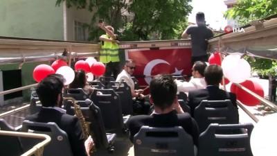 milli bayram -  19 Mayıs Atatürk'ü Anma Gençlik ve Spor Bayramı coşkusu Kartal'ın sokaklarına taştı