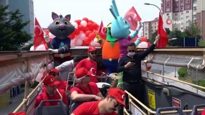 milli bayram -  Başakşehir'de bandolu 19 Mayıs coşkusu