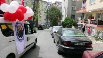 milli bayramlar -  Kartal'da sokağa çıkma kısıtlaması, 19 Mayıs coşkusuna engel olmadı