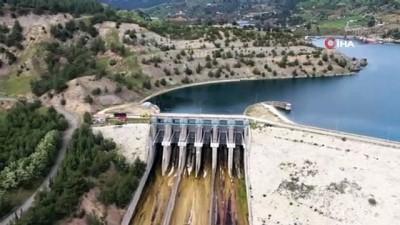 baraj kapaklari -  Kahramanmaraş'ta barajlar yüzde 98'lik doluluk oranına ulaştı