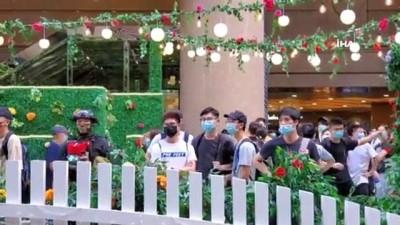 - Hong Kong'da Çin'in yeni güvenlik yasa tasarısı protesto edildi