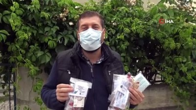 bayram hediyesi -  Bayramda mendil yerine çocuklara özel maske