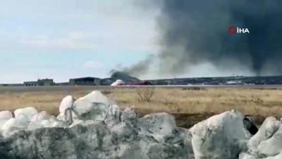 - Rusya'da askeri helikopter düştü: 4 ölü