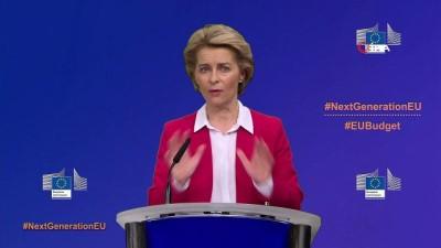 kurtarma paketi -  - AB Komisyonu,  'Yeni Nesil AB' adıyla 750 milyar Euro'luk kurtarma planı hazırladı