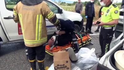 Yalova-Bursa yolunda kaza:1 yaralı
