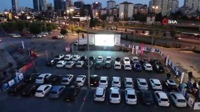 sinema filmi -  İstanbul'da vatandaşlara 'açık hava sinema' hediyesi