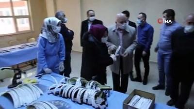 Başkan Sekmen'den ESMEK'lere ziyaret