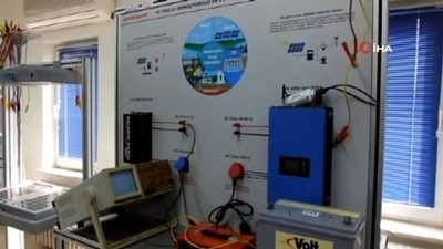 Meslek Eğitim Merkezi kendi elektriğini üretmek için güneş santral kurdu