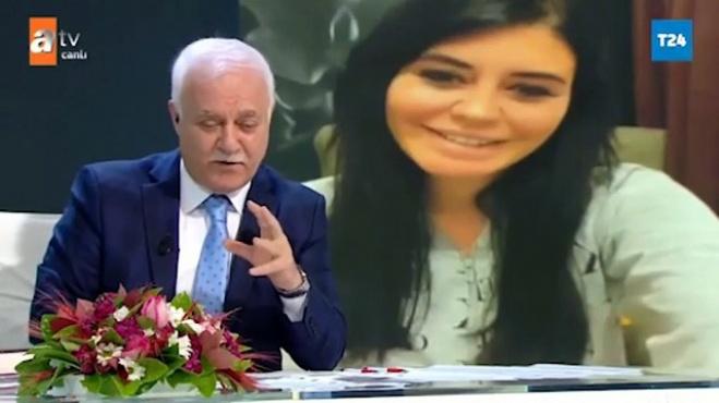 ebru polat - Ebru Polat'tan Nihat Hatipoğlu'na videolu soru