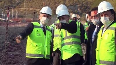 """yuksek hizli tren -  Ulaştırma ve Altyapı Bakanı Adil Karaismailoğlu: '2023 yılında 17 bin 500 kilometrelik bir demiryolu hattına kavuşmuş olacağız"""""""