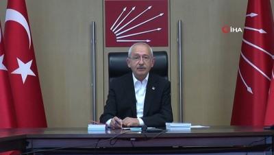 CHP Lideri Kılıçdaroğlu partisinin meclis toplantısına katıldı