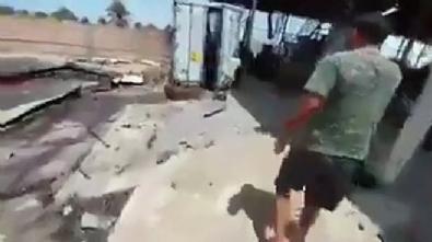 Hafter'den kurtarılan yerde içi ceset dolu konteyner bulundu