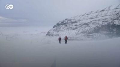 Avrupa'nın en büyük buzulu İzlanda'da: Vatnajökull