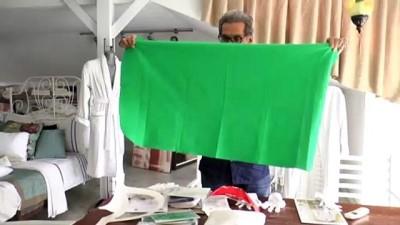 Bir tekstil firması antiviral kumaştan seccade üretti - DENİZLİ