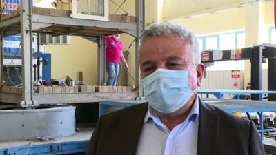 Patentli ve tescilli sismik izolatör 'Deprem Fatihi' test edildi - İSTANBUL