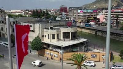 sinema salonu - Hatay tarihi Meclis binasında restorasyon çalışmaları başladı