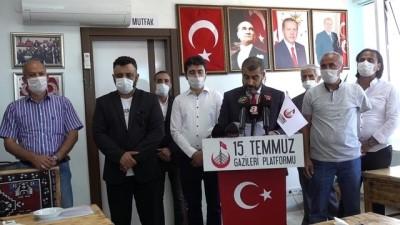 15 Temmuz Şehitler ve Gaziler Platformu'ndan 'devletimize her zaman müteşekkiriz' açıklaması - İSTANBUL