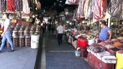 Gaziantep'in tarihi sokaklarında normalleşme hareketliliği