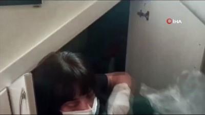 FETÖ'cü doktor saklandığı gizli merdiven altı oda da yakalandı
