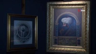 portre -  Fatih Sultan Mehmed'in ilk defa sergilenecek portresi tanıtıldı