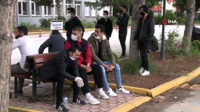 Asker adaylarına Korona virüs testi